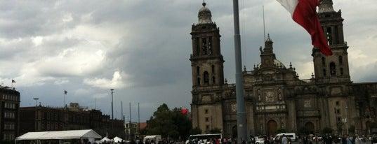 Plaza de la Constitución (Zócalo) is one of Trips / Mexico.