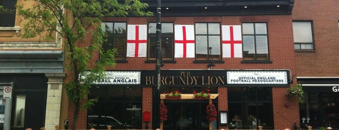 Burgundy Lion is one of Resto Mtl 101.