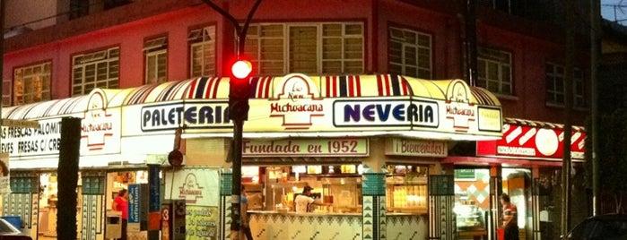 La Nueva Michoacana is one of Bebidas..