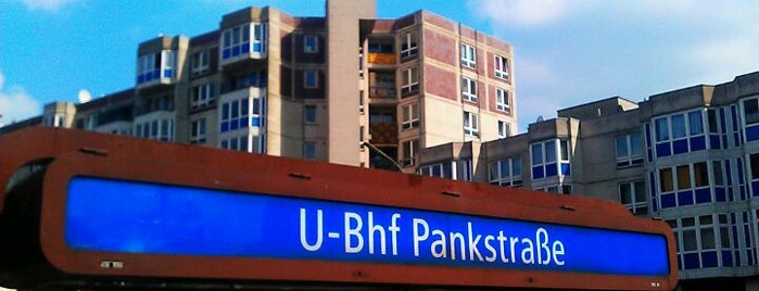 U Pankstraße is one of Besuchte Berliner Bahnhöfe.