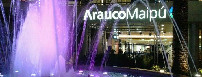 Mall Arauco Maipú is one of Malls en Santiago de Chile.