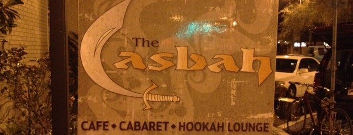 Casbah Cafe is one of New Places to Eat.