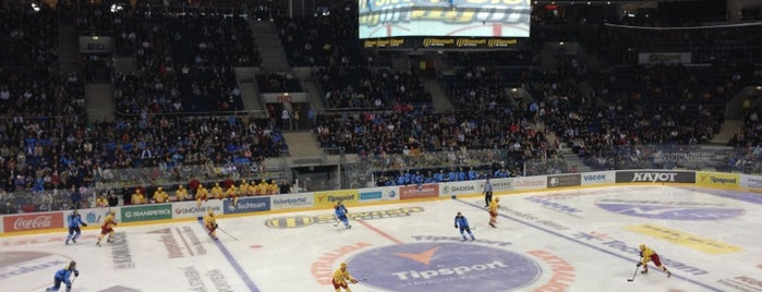 Zimný štadión Ondreja Nepelu | Slovnaft Arena is one of JYM Hockey Arenas TOP100.