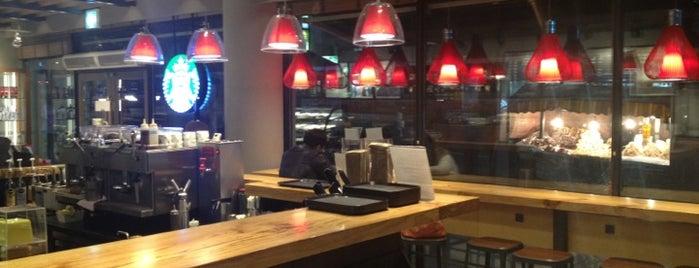 Starbucks is one of Secret life happy.