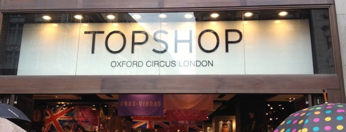 Topshop is one of Shopping London.