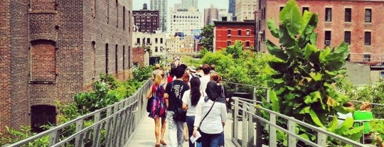 High Line is one of Places to take NYC Visitors!.