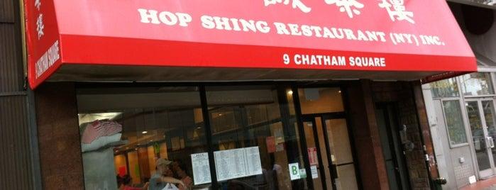 Hop Shing Restaurant 合誠茶樓 is one of The 15 Best Dim Sum Restaurants in New York City.
