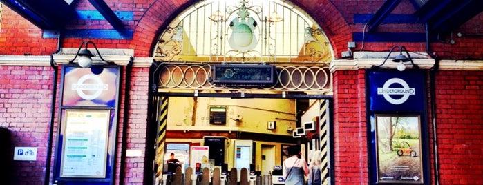 Stamford Brook London Underground Station is one of Tube Challenge.
