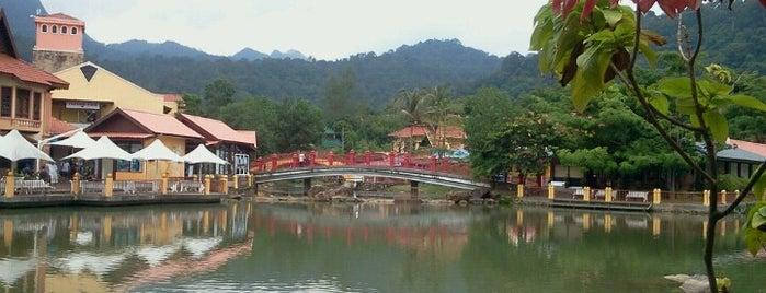 Langkawi Oriental Village is one of ท่องเที่ยวที่ Langkawi, Kedah.