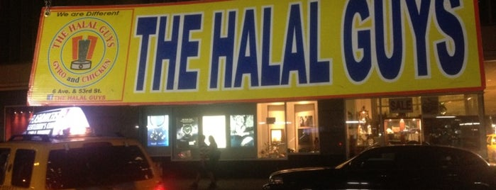 The Halal Guys is one of NYC Food on Wheels.
