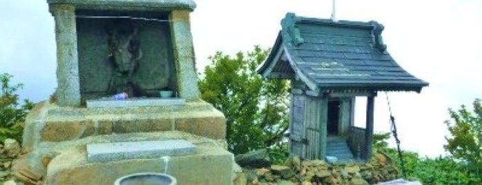 瓶ヶ森 男山山頂 is one of 四国の山.