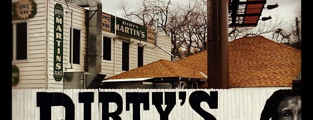 Dirty Martin's Place is one of Burgers in ATX.