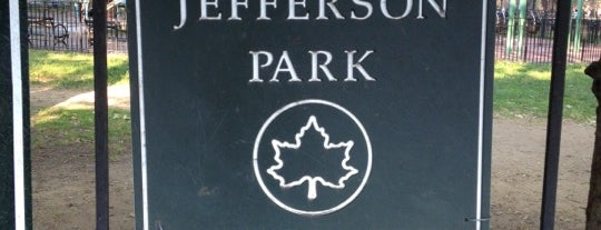 Thomas Jefferson Park is one of Wi-Fi in NYC Parks.