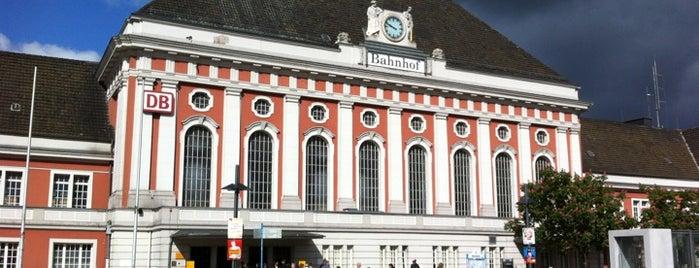 Bahnhof Hamm (Westfalen) is one of Ausgewählte Bahnhöfe.
