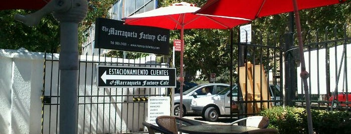 The Marraqueta Factory Café is one of Restaurantes, Bares, Cafeterias y el Mundo Gourmet.