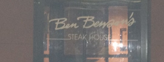 Ben Benson's Steakhouse is one of test.