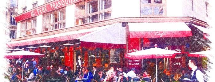 Au Père Tranquille is one of Wifi Cafés.