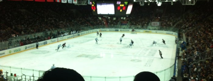 Arena Omsk is one of JYM Hockey Arenas TOP100.