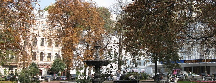Площа Івана Франка is one of Площади города Киева.