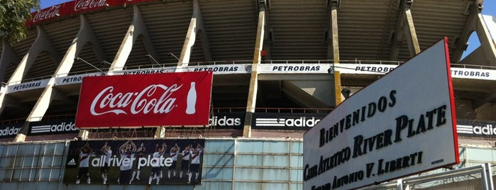 Estadio Monumental (River Plate) is one of Best Stadiums.