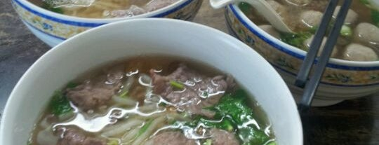 Lai Foong Beef Noodle Shop is one of KL Cheap Eats.