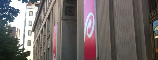 Enoch Pratt Free Library - Central Library is one of The Great Baltimore Check-In.