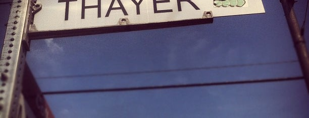 Thayer Street is one of Inspired locations of learning.