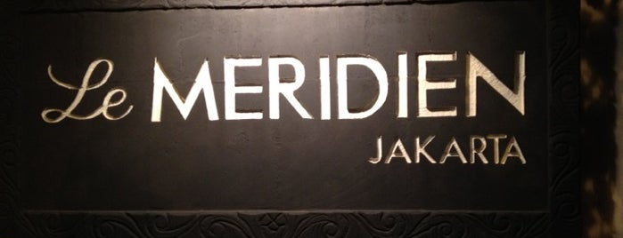 Le Méridien Jakarta is one of Workspace.