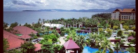 Renaissance Sanya Resort & Spa is one of Ren.