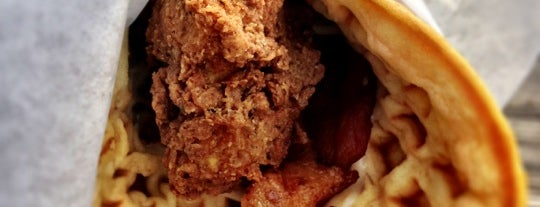 Lucky J's Chicken & Waffles is one of SXSW: The Travellers' Guide.