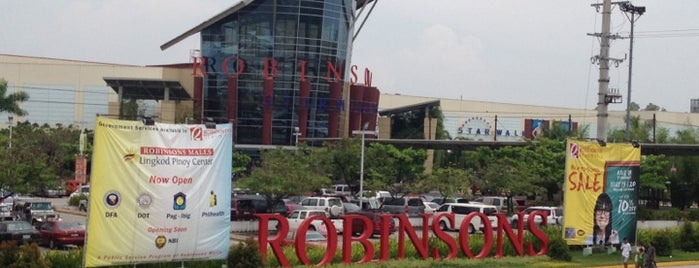 Robinsons Starmills is one of Malls.