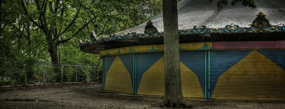 Forest Park is one of A Guide To NYC's Carousels.