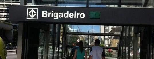 Estação Brigadeiro (Metrô) is one of Transporte.