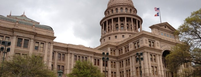 Texas State Capitol is one of Speakmans SXSW Venues in Austin.