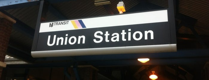 NJT - Union Station (RVL) is one of train.