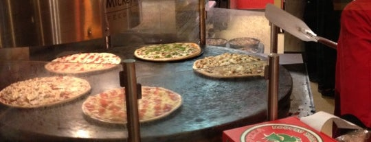 Mickey's Pizza is one of DebrA.