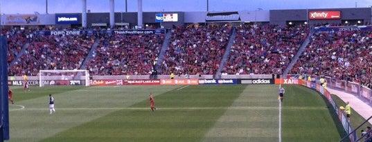 Rio Tinto Stadium is one of การแข่งขันฟุตบอลนัดสำคัญ.