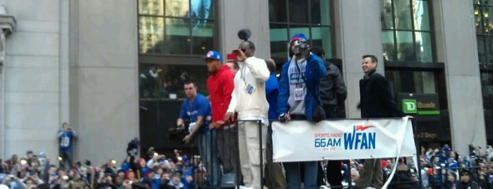 New York Giants Super Bowl Victory Parade 2012 is one of tmp.