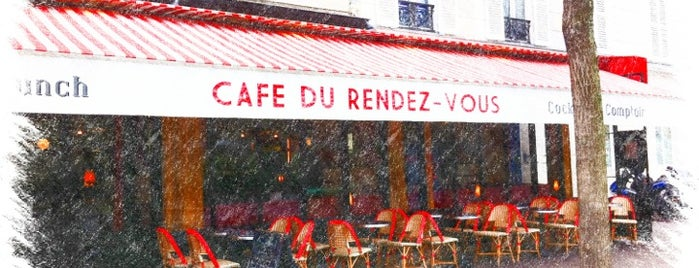 Café du Rendez-Vous is one of Bars & co.