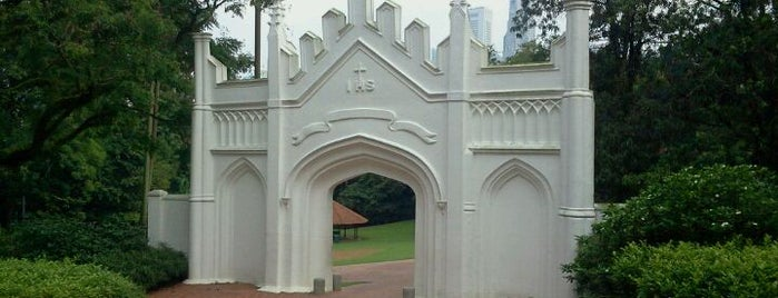 Fort Canning Park is one of Simply Singapore.