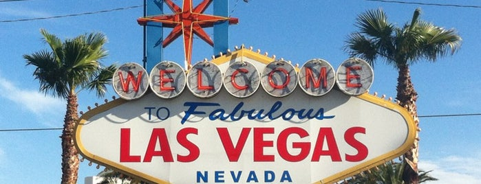 Welcome To Fabulous Las Vegas Sign is one of Places from the reporting trail.