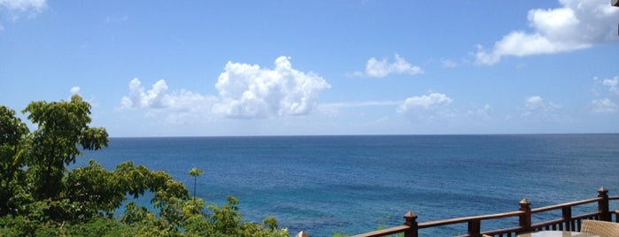 The Cliff Restaurant and Bar is one of 36 hours in...St Lucia.