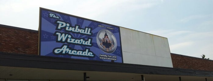 Pinball Wizard Arcade is one of Arcades and Fun Places.
