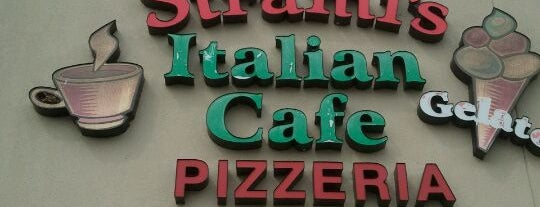 Strami's Italian Cafe is one of Pizza.