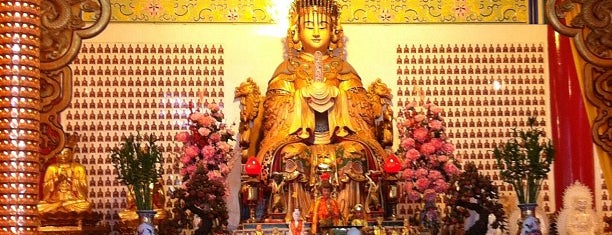 Thean Hou Temple (天后宫) is one of Cool KL.