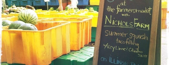 Wicker Park Farmers Market is one of Where to Go: Bucktown + Wicker Park.