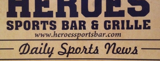 Heroes Sports Bar & Grille is one of Time to Eat.