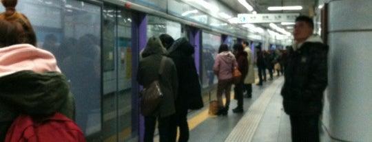 동대문역 (Dongdaemun Stn.) is one of Subway Stations in Seoul(line1~4 & DX).