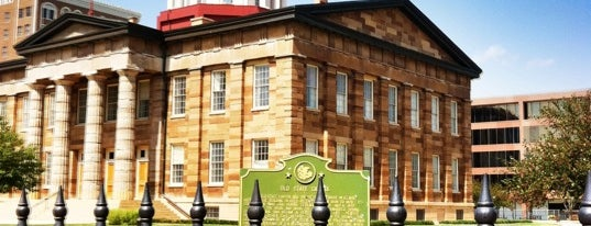 Old State Capitol is one of Springfield, Springfield!!.