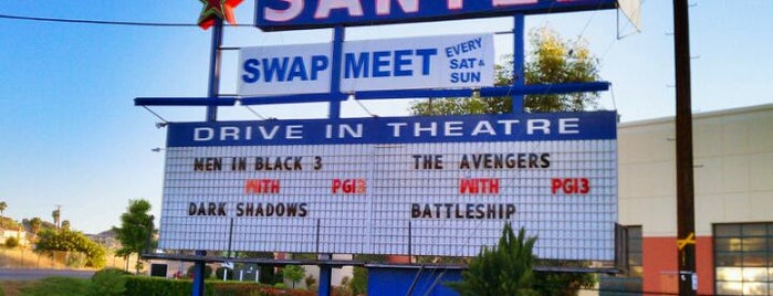 Santee Drive In Theater is one of Things to do in San Diego.